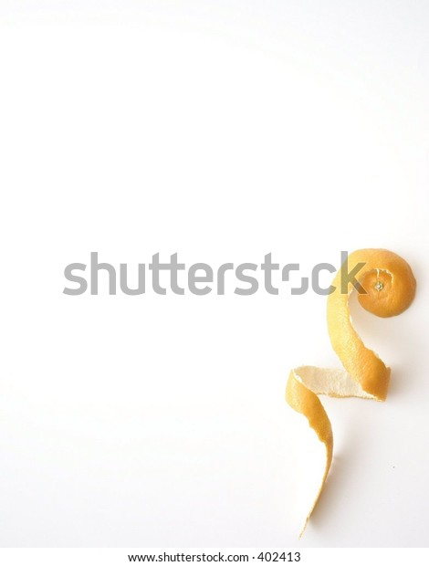 tangerine peel (lots of room for text