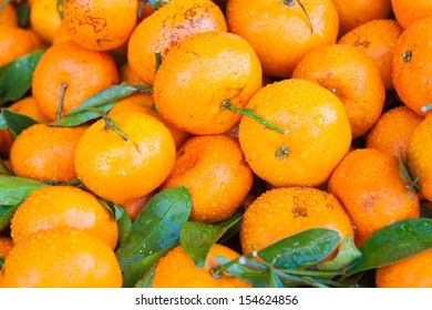 Tangerine tastes sweet and sour little fruit is a healthy and high in vitamin C. The fruit is very popular around the world.