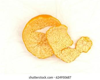 Tangerines skin