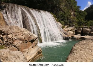 Tanggedu Waterfall, Sumba, Indonesia