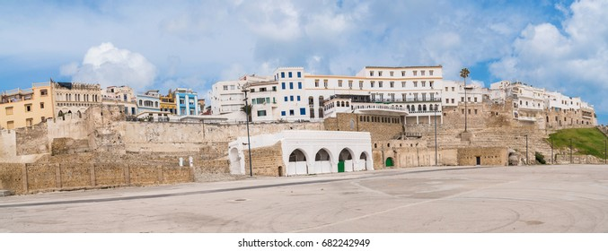 Tangier Morocco Typical Buildings, Apartments, Residence Panoramic