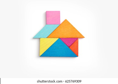 Tangram Toy House