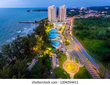 Tanjong Lobang Beach Miri, Sarawak.