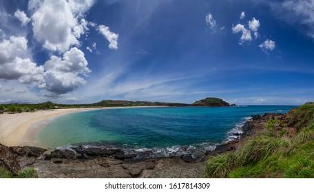 Tanjung Ann beach, Kuta Mandalika, Lombok, Indonesia