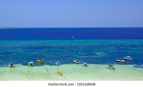 Tanjung Bira Beach. A popular beach in South Sulawesi.