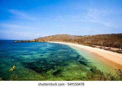 Tanjung Ringgit near Pink Beach Lombok Indonesia
