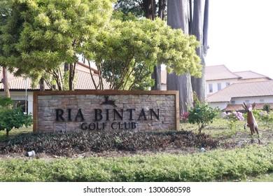 Tanjungpinang January 23 2019 - Ria Bintan Golf Club in Bintan island