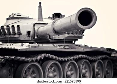 tank - black and white