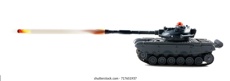 Tank fire power with tank firing.