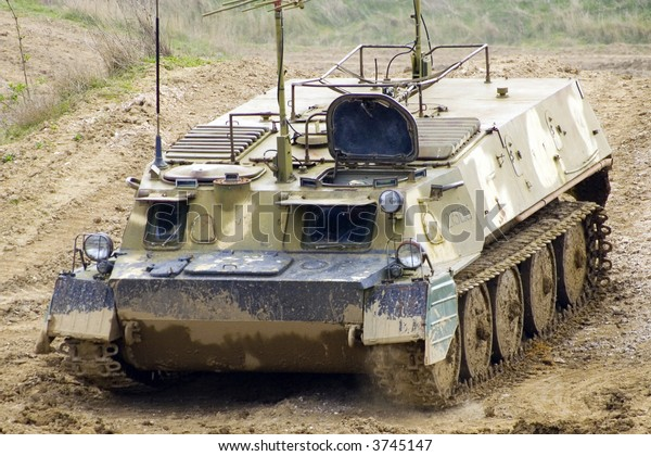Tank Mud Stock Photo (Edit Now) 3745147