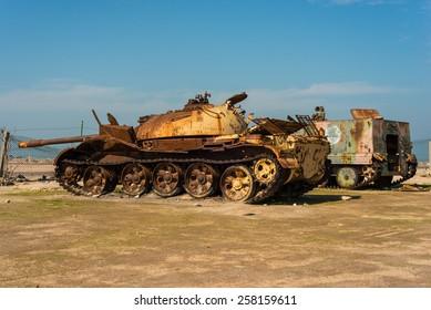 Tank on Failaka