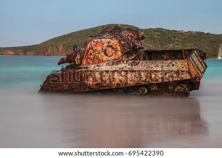 Flamenco Beach Tank