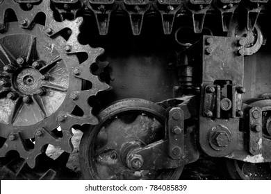 the Tank wheels