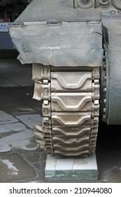 tanks transmission device, closeup of photo