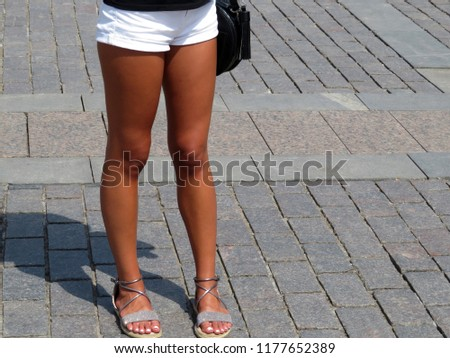 Now all hot teen legs
