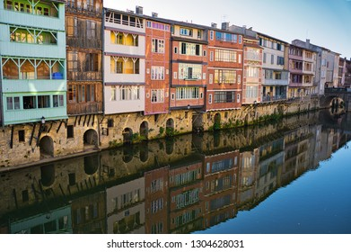 Tanner's houses along the Agout river in Castres