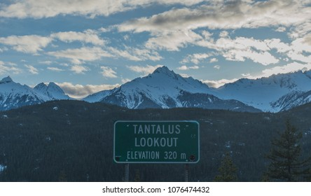 tantalus lookout in BC,Canda