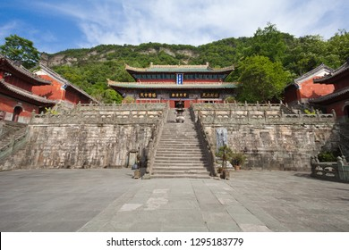 Taoist temple in wudang mountain,hubei province,China