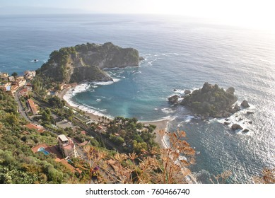Taormina, view from the town