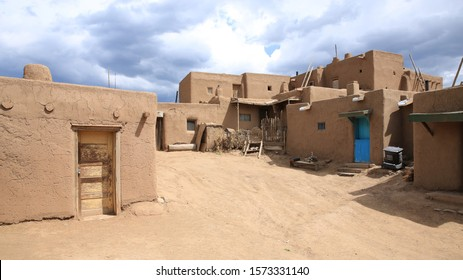 Taos Pueblo National Historical Landmark, Unesco World Heritage, New Mexico, USA