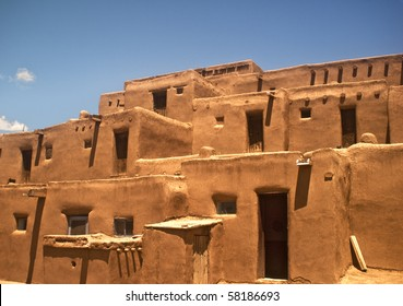 Taos Pueblo view - North Section - This is the oldest city in the United States