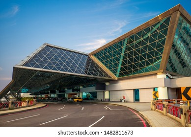 Taoyuan, taiwan -  March 15: Taoyuan International Airport (TPE) in taiwan. It is Taiwan's largest and busiest airport that operations in 1979.