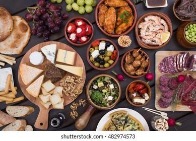 tapas food