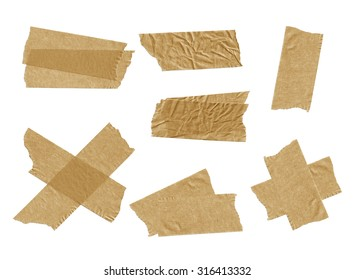 Tape isolated on white.
