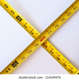 Tape measure in Inch and Centimeter