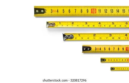 Tape metrics.