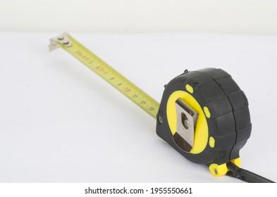 tape  tool work yellow centimeter