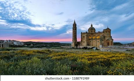 Tapinu church. Gozo. Malta