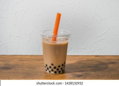 Tapioca bubble milk tea(Tapioca bubble drink)