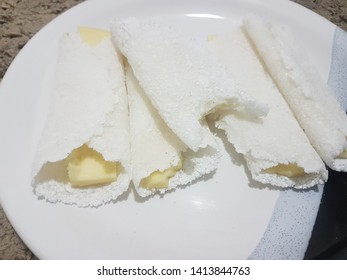 Tapioca with cheese from Northeast Brazil