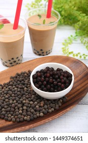The tapioca that a texture becomes the habit