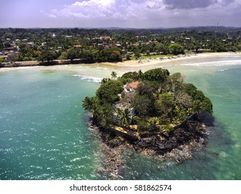 Taprobane Island, Sri Lanka, an island with a little used private villa once stayed in by Kylie Minogue.