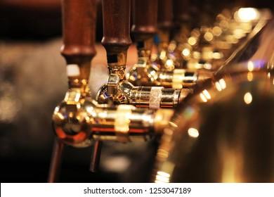 Taps of beer