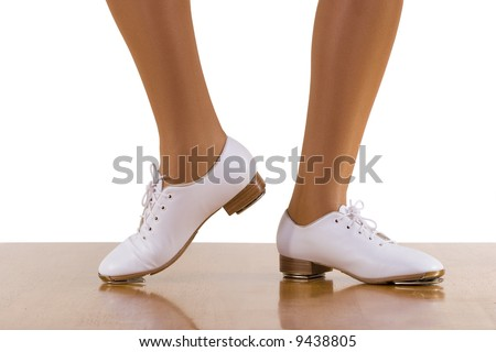 22299fae Tap Top Clog Dance Side Steps Close Up Stock Photo (Edit Now ...