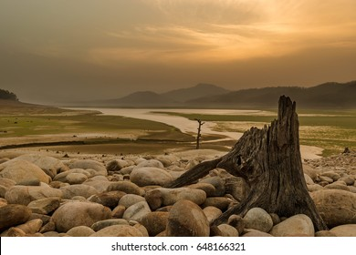 """Tapu"" in the ""Land of Trumpets and Roars""... The island at Jim Corbett National Park... Beautiful Landscape, Golden Light, Awesome sunset and more..."
