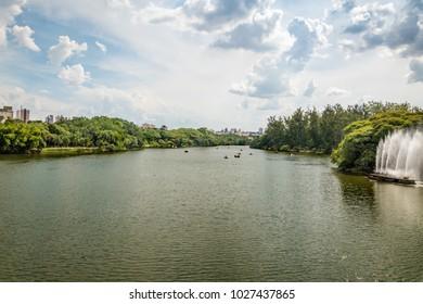 Taquaral Park at Campinas City - São Paulo - Brazil