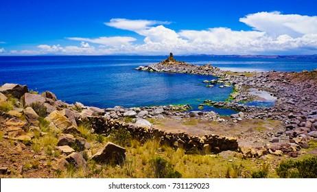 Taquile Island in Peru