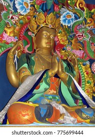 Tara The buddhist godess idol at a temple in Rewalsar, Himachal India