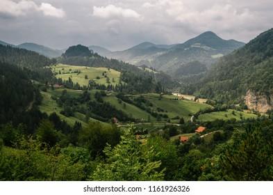 Tara mountain landscapes, Serbia