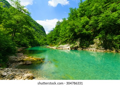 The Tara River and Canyon, northern Montenegro