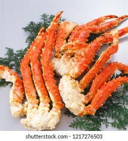 Taraba-gani's (red king crab) legs