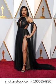 Taraji P. Henson at the 90th Annual Academy Awards held at the Dolby Theatre in Hollywood, USA on March 4, 2018.
