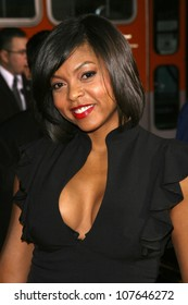 Taraji P. Henson  at the Los Angeles Premiere of 'Eagle Eye'. Mann's Chinese Theatre, Hollywood, CA. 09-16-08