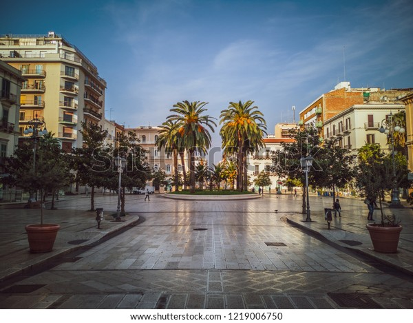 Taranto Italy October 21 2018 Piazza Stock Photo (Edit Now ...