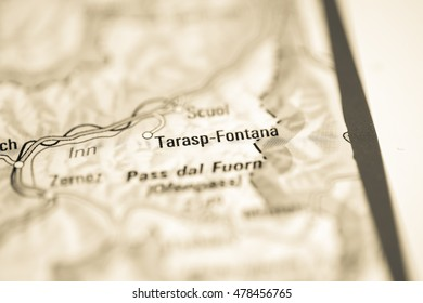 Tarasp-Fontana. Switzerland