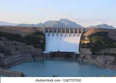 Tarbela Dam in Haripur Hazara Division